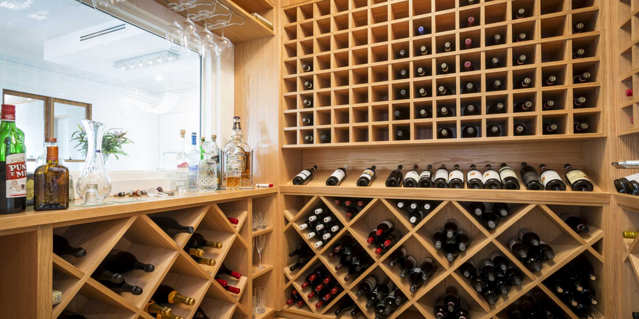 Bring your wine cellar to your living space!