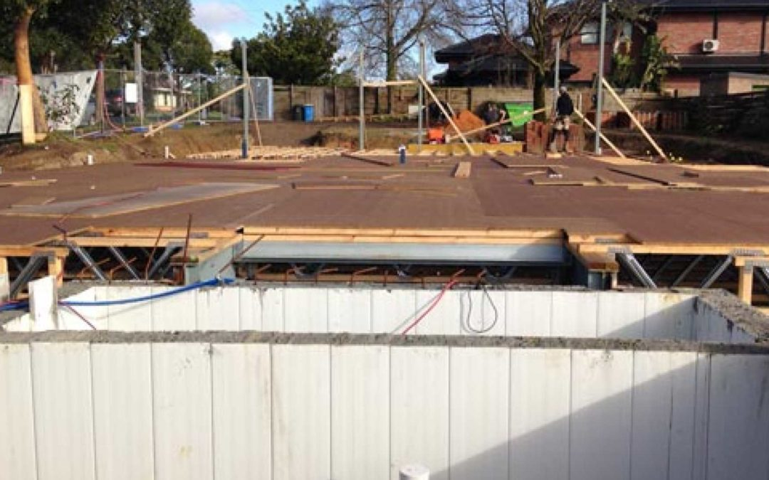 Get the form on formwork