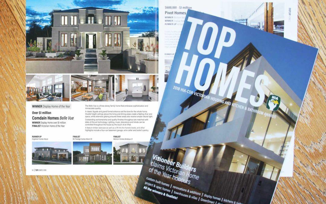 HIA Top Homes 2018