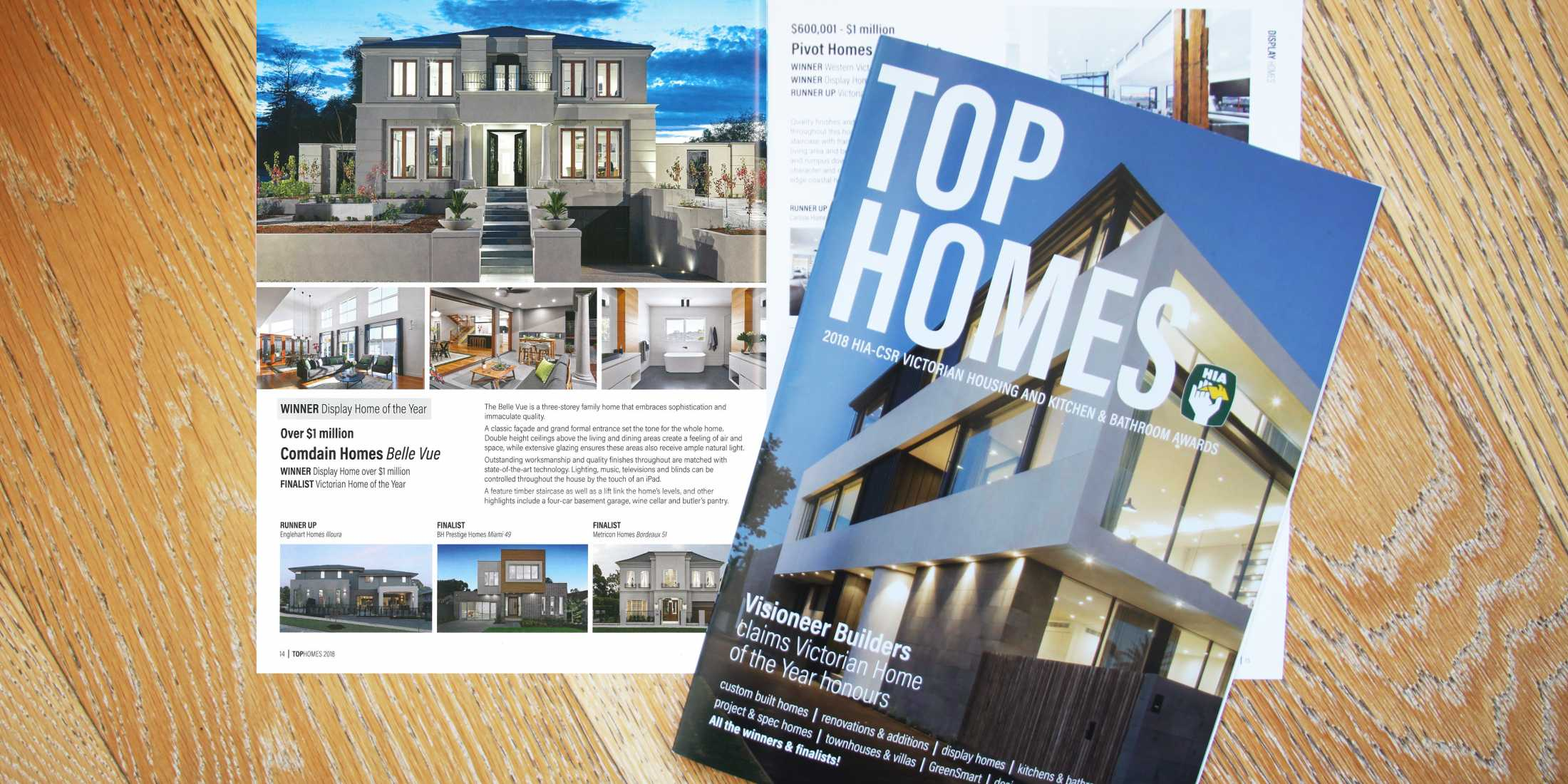 HIA Top Homes 2018