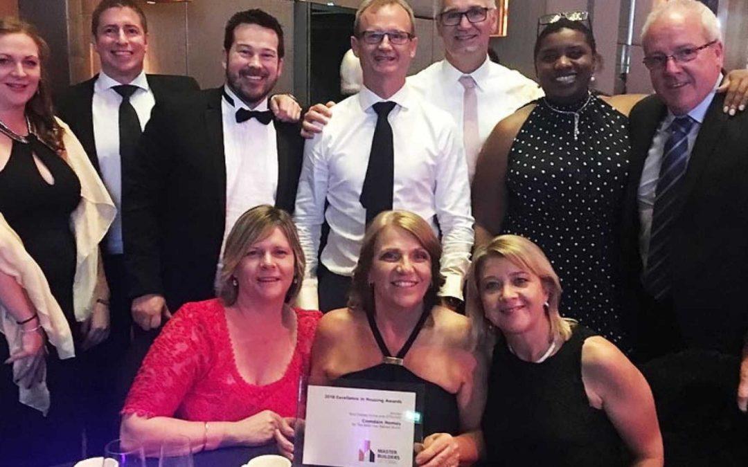 MBAV Excellence in Housing Awards Winner